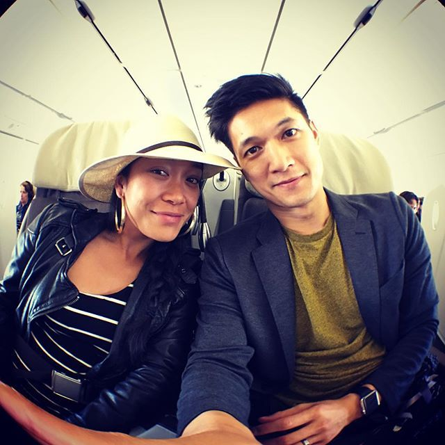 Harry Shum, Jr & Shelby Rabara