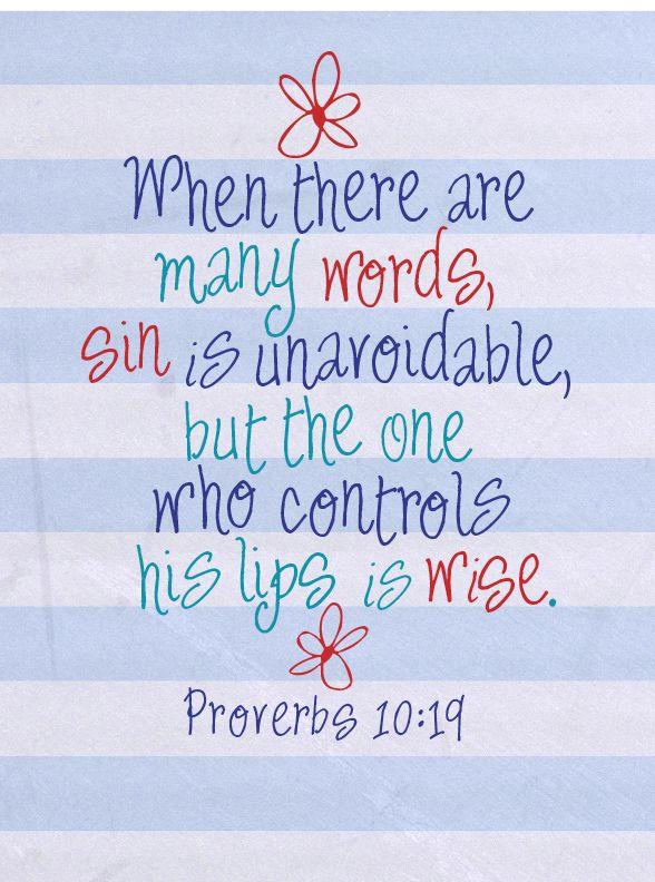 Gossip Kjv Bible Verses