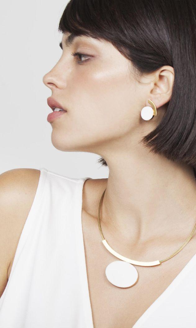 JOIDART | Raquel San Nicolás wearing Keramik White