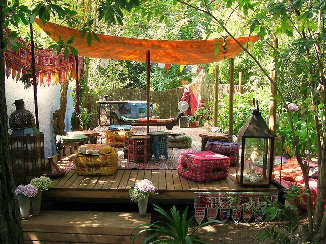 17 Boho Rustic Patio Pictures U2013 Daily Backyard Home Garden Project  Inspiration