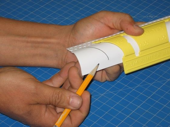 """¾"""" & 1½"""" Bullnose Miter Marker   Trim-Tex   Drywall Products"""