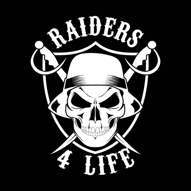 Oakland Raiders Skulls Different size options available