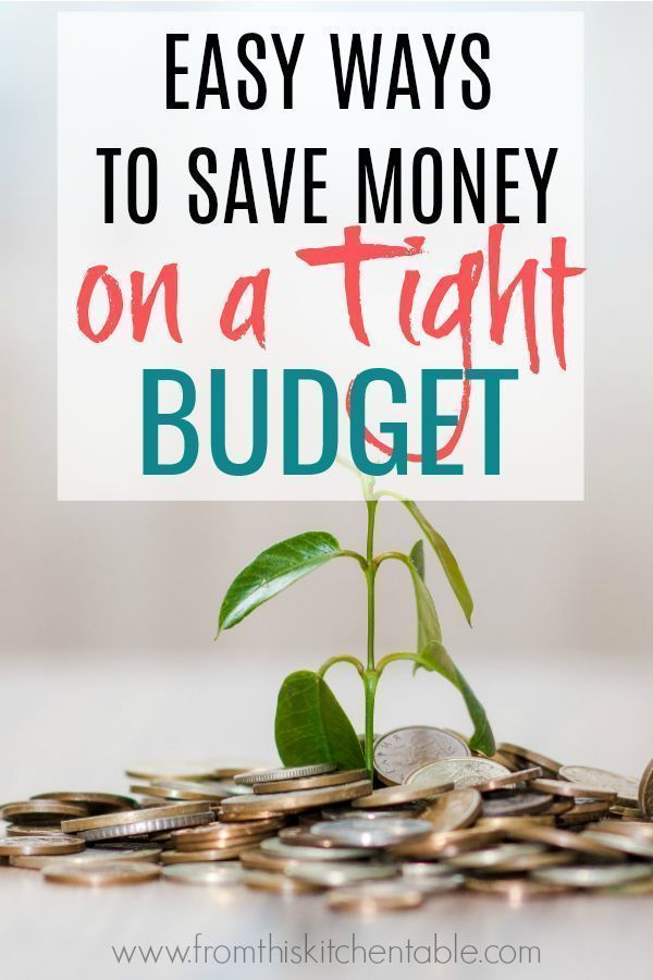 Easy Ways to Save Money On A Tight Budget Budgeting - capital budgeting spreadsheet