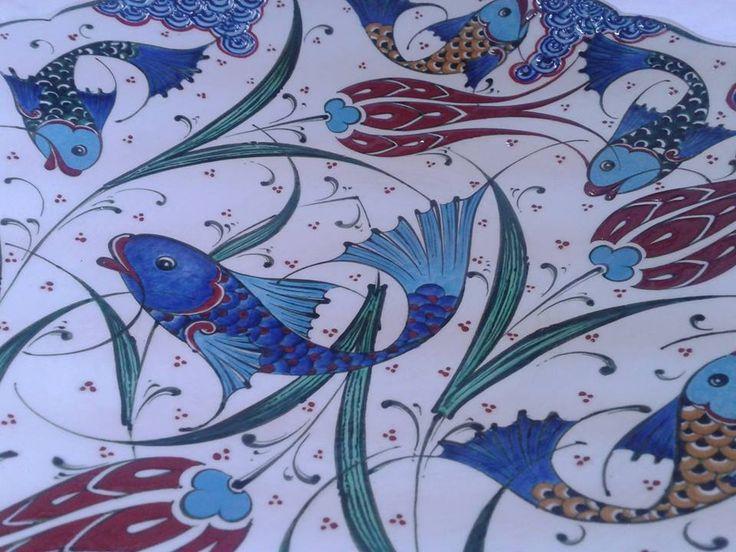 NURETTİN ÇETİN COLLECTİONS-Original hand-painted ceramic
