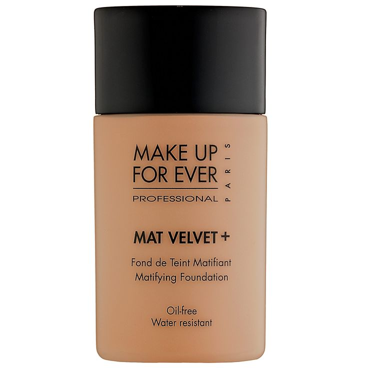 MAKE UP FOR EVER Mat Velvet + Matifying Foundation #makeup #Sephora #ColorIQ