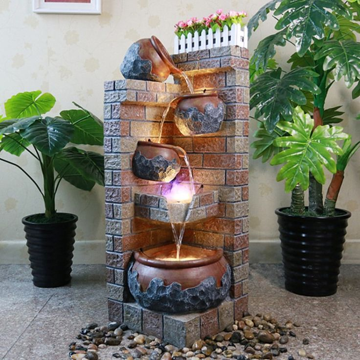 20 Lavish Indoor Water Fountains For Your