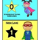 Teach your students to control their noise level in the classroom by using this fun superhero themed noise meter!