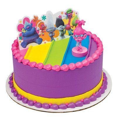 Trolls Poppy Show Me a Smile Cake Topper by DecoPac DecoPac
