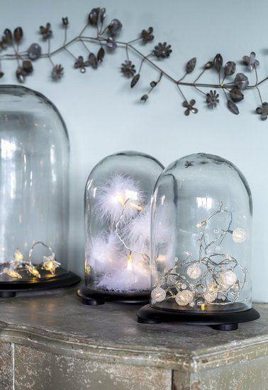 christmas - globe - glass dome
