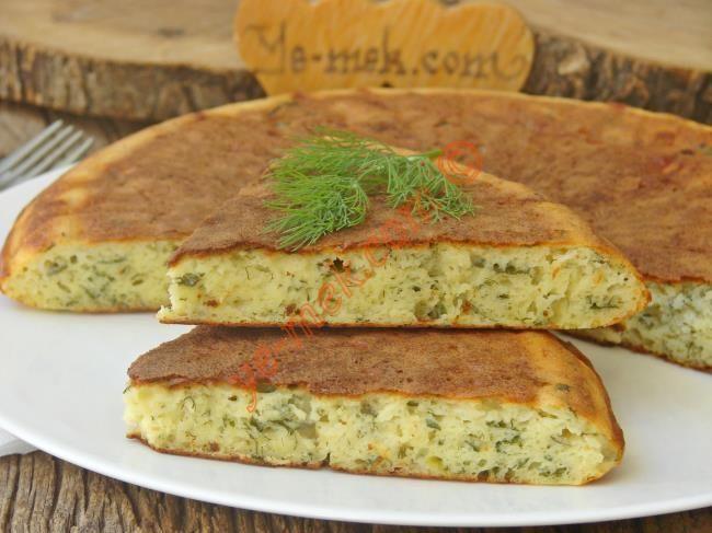 Peynirli Tava Keki Resmi