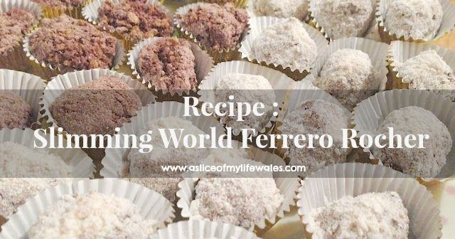 I don't know about you but for me Ferrero Rocher is a much needed Christmas treat. The good news is that even on a diet you don't have to g...