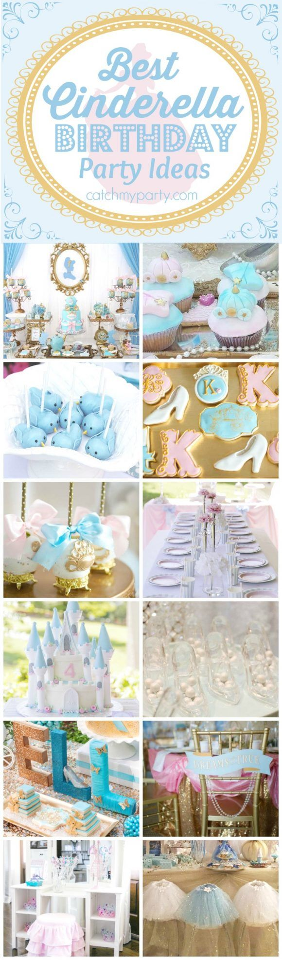 Best Cinderella Birthday Party Ideas | The Catch My Party Blog | Bloglovin'