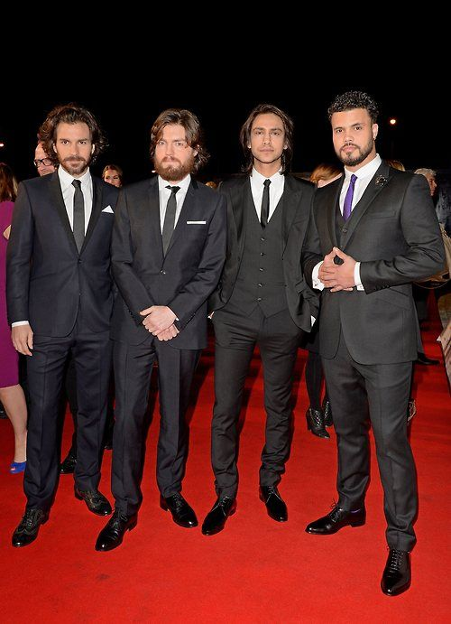 The Musketeers, not gonna lie this is kind of painful but man they look good jeez