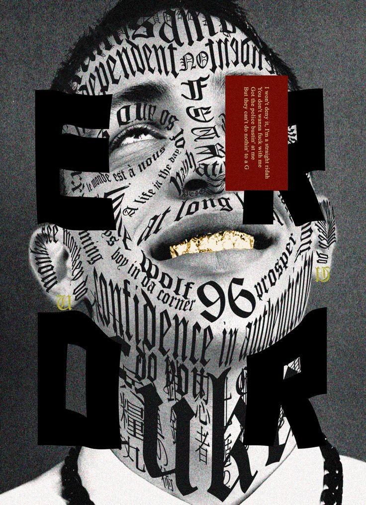 Akin James Typography
