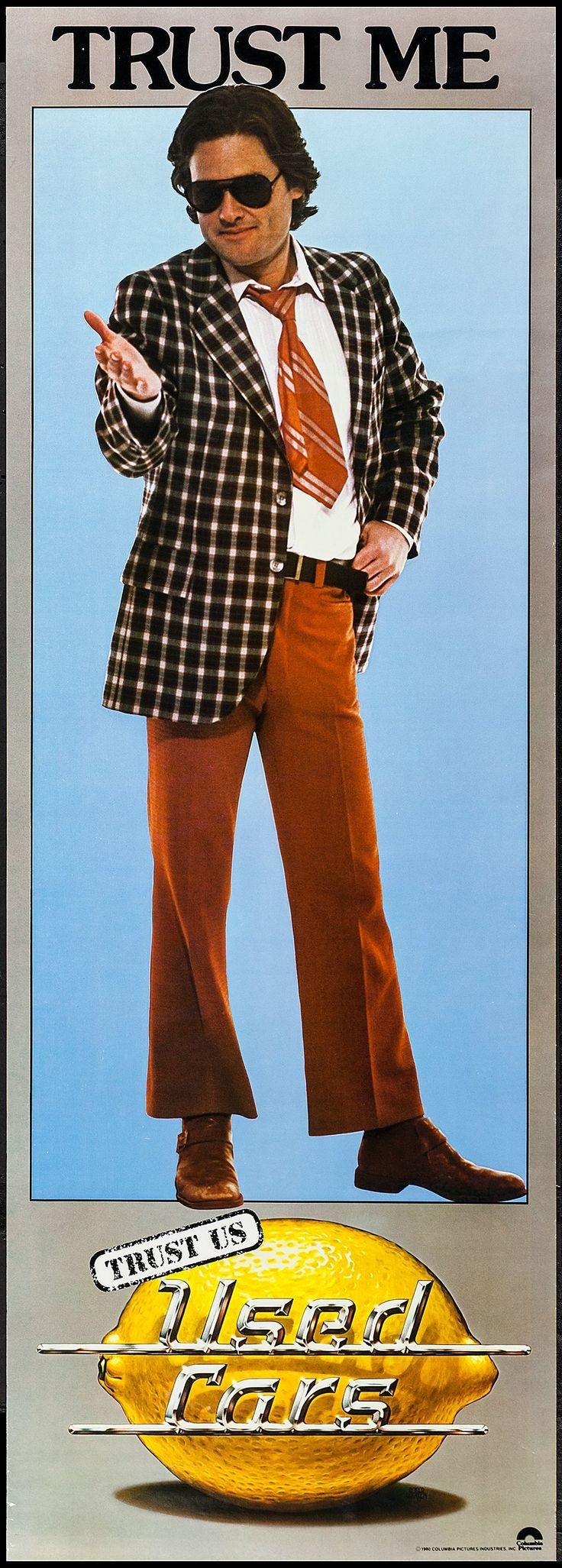 Used Cars (1980) Stars: Kurt Russell, Jack Warden, Gerrit Graham, Frank McRae, Deborah Harmon, Joe Flaherty ~ Director: Robert Zemeckis