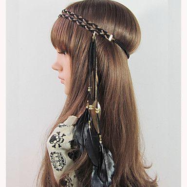 Bruiloft/Feest/Dagelijks/Causaal - Haarbanden ( Legering/Veer , Zoals Op De Afbeelding ) – EUR € 7.83