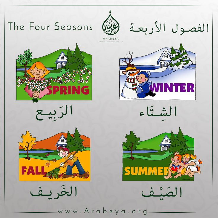 The four seasons of the year,,,,