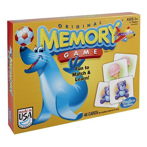 Hasbro, Jeu de mémoire plaisir, 3+ ans. 17.99  Disponible en boutique ou sur notre catalogue en ligne. Livraison rapide au Québec.  Achetez-le info@laboiteasurprisesdenicolas.ca