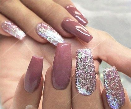trends women 2019 with acrylic coffin nails 15  mauve