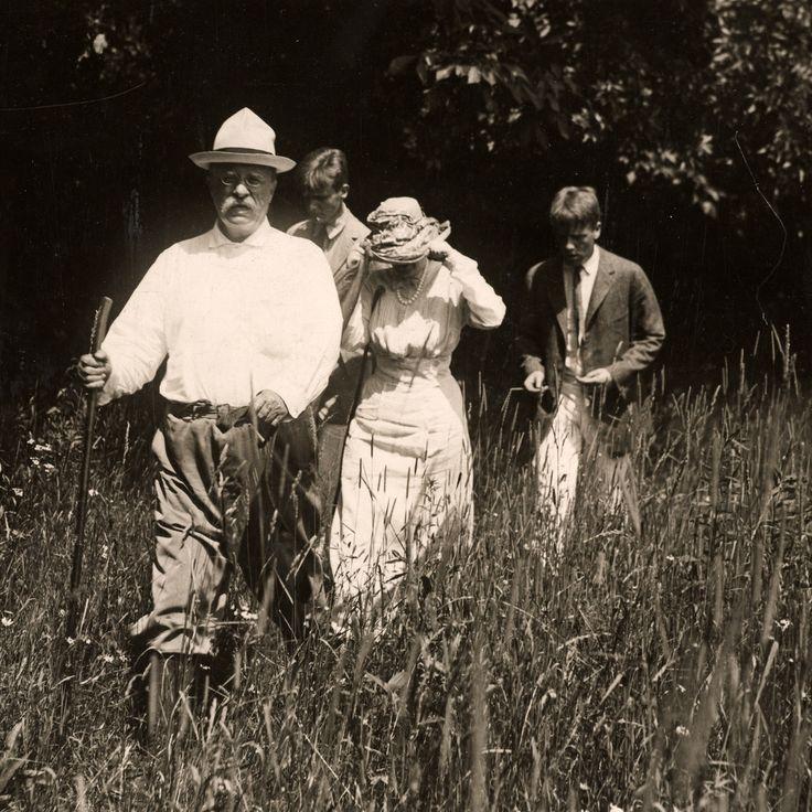 Teddy Roosevelt on a walk