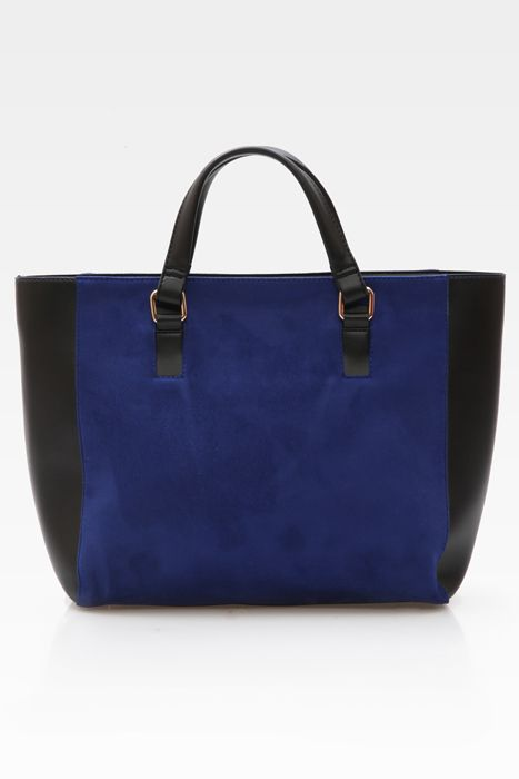 Sweet escape bag #handbag #taswanita #bags #suede #beltleather #kombinasi #totebag #trendy #stylish #messengerbag #simple #fashionable #colors #blue