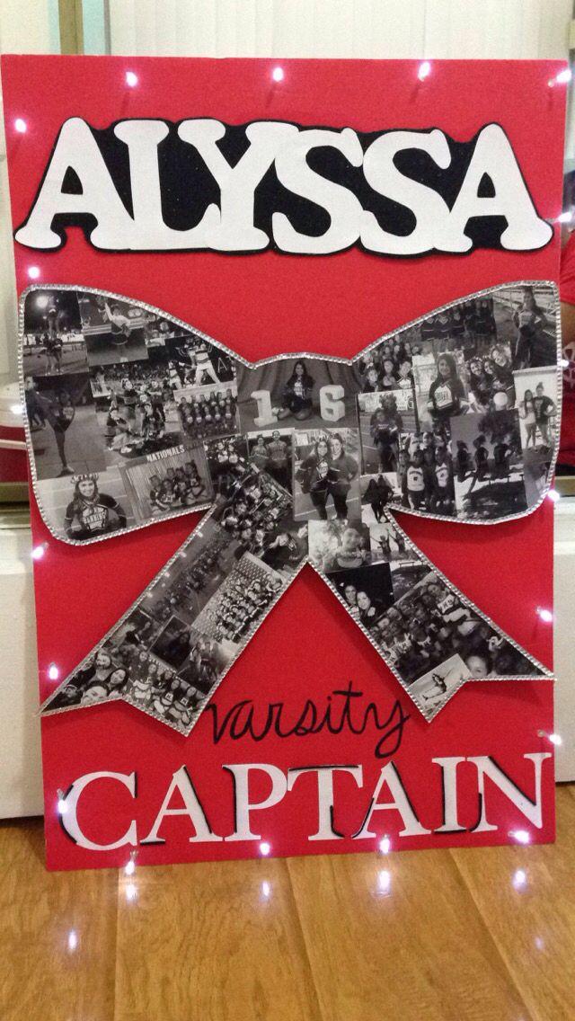 Senior Night Poster for Cheer