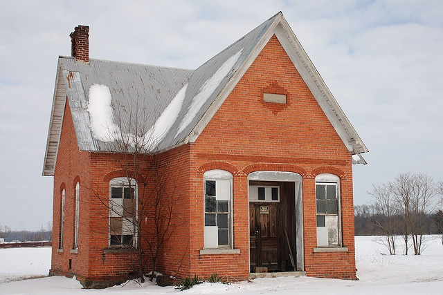 Old School House by Lake Effect, via Flickr
