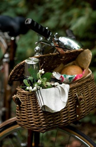kinfolk mag, Lisa Warninger. Gorgeous, gorgeous bike basket.