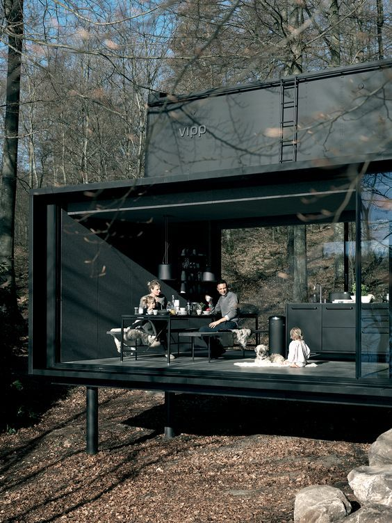 """architectureandfilmblog: """" VIPP SHELTER This high-end 'put anywhere' prefab has taken some criticism for functional shortcomings (mostly due to its questionable adaptability to different..."""