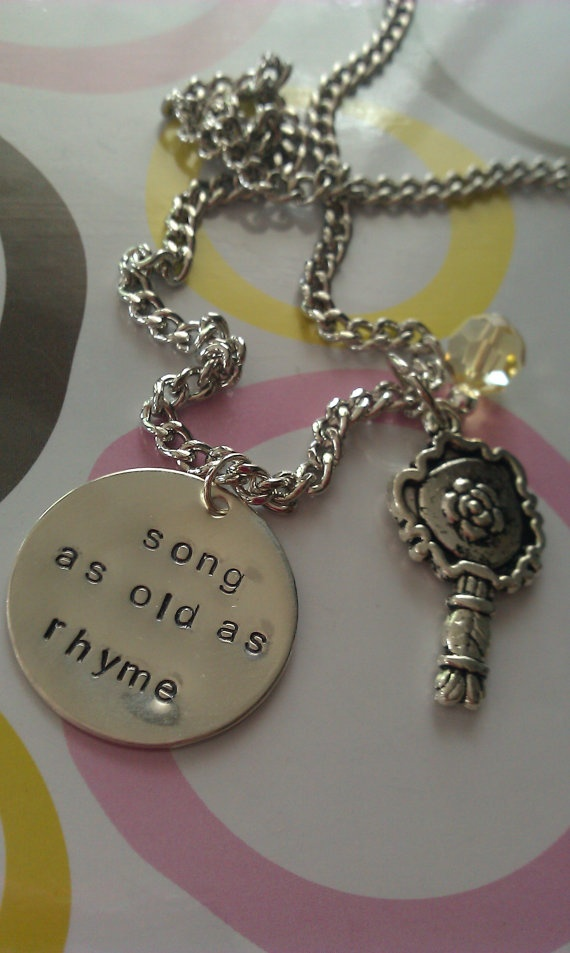 i want this beauty and the beast necklace