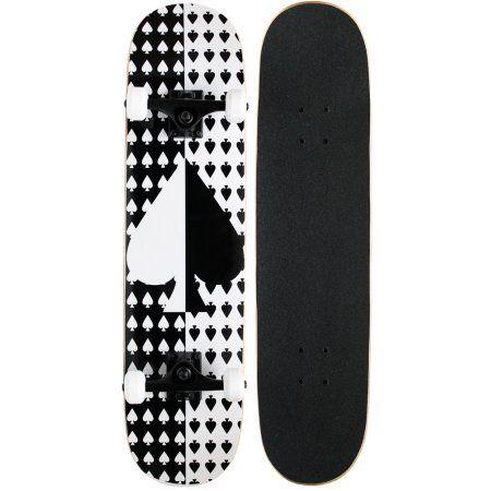 KPC Pro Skateboard Ace Spade 7.75 inch