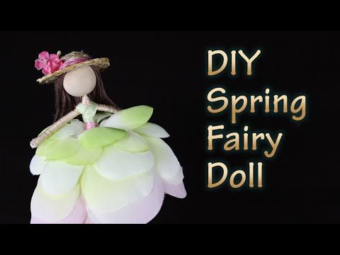DIY Sunflower Fairy Doll | How To Make A Fairy Doll ...