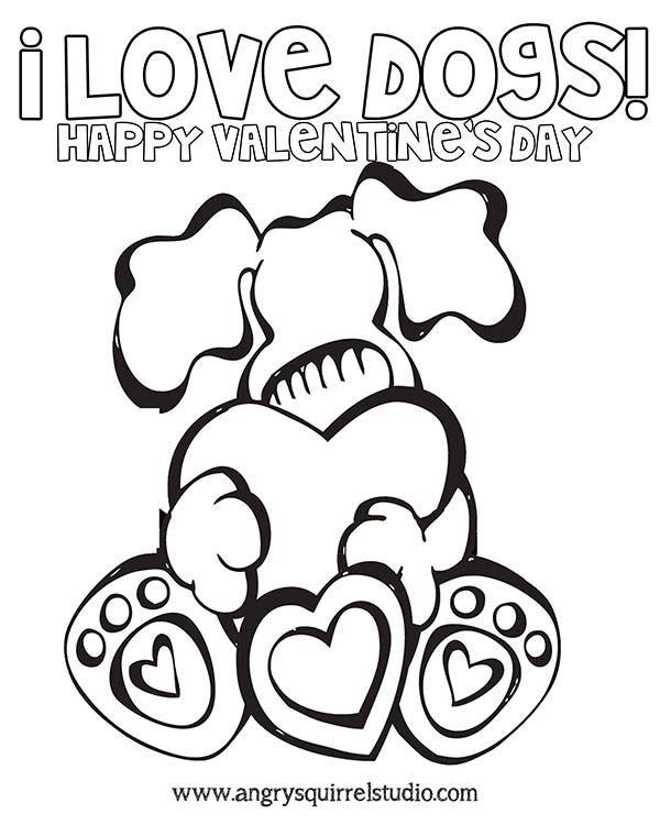 Will You Be My Valentine Happy Valentines Day From Angry Squirrel Studio Celebrate With