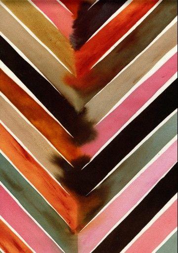 Painting by Painter + Textile Designer Luli Sanchez.