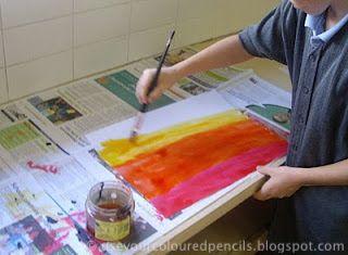 Use Your Coloured Pencils: grade 5