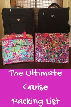 New to cruising? Let the professionals (not that we truly are professional but after 25+ cruises, we are pretty seasoned) help you out by offering this cruise packing list to save time and trouble when getting ready for your adventures. Happy sailing!