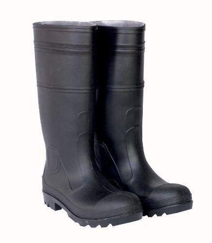CLC Rain Wear R24010 Over The Sock Black PVC Rain Boot with Steel Toe, Size 10 CLC Rain Wear http://www.amazon.com/dp/B002WN2T3Y/ref=cm_sw_r_pi_dp_8Z5mub0DQME16