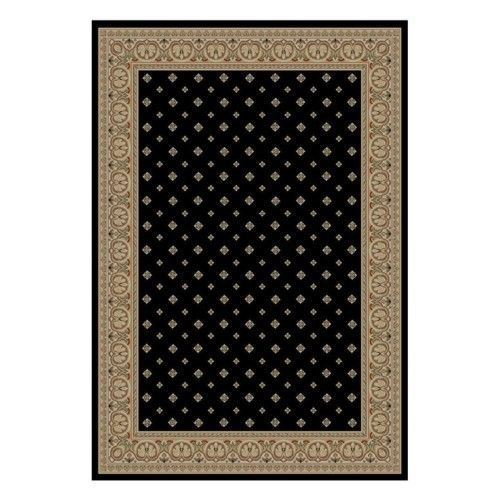 Hudson Terrace Area Rug - Black, As Shown Rug Cleaning And