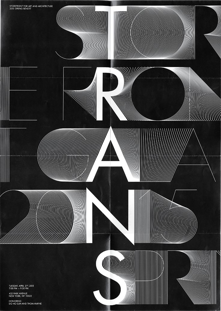 TRANS, Identity system - Exhibition on Behance