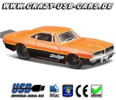 Dodge Charger RT '69 - USB Speicherstick Musclecar pur