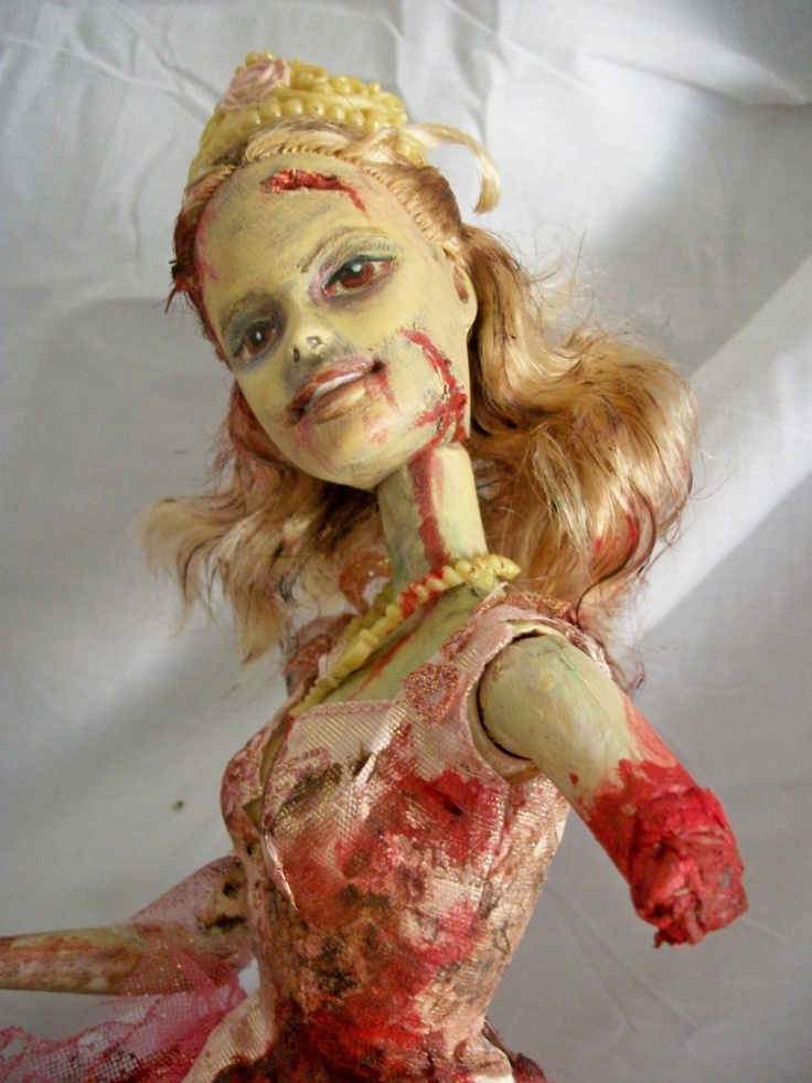 Hey there, undead Barbie.