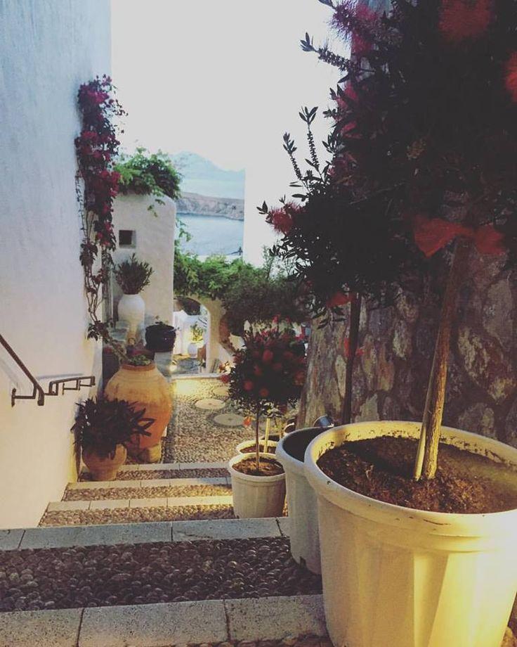 secret passage at Melenos Lindos Exclusive Suites