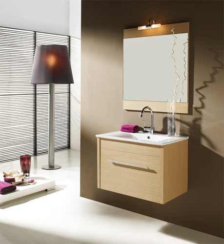 Mueble base mas espejo