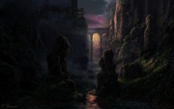 Fantasie - Landschap Wallpapers and Backgrounds