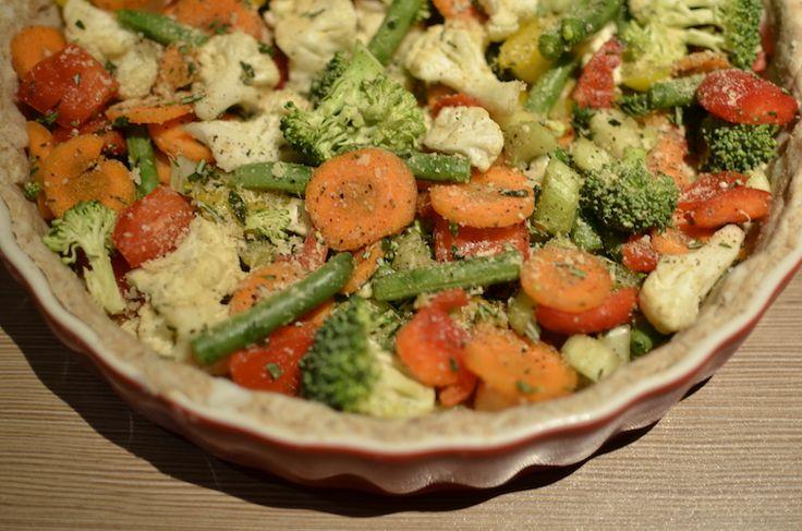 Vegan quiche, ja het kan! - Healthy Vega