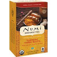 Turmeric Three Roots - Numi Organic Tea
