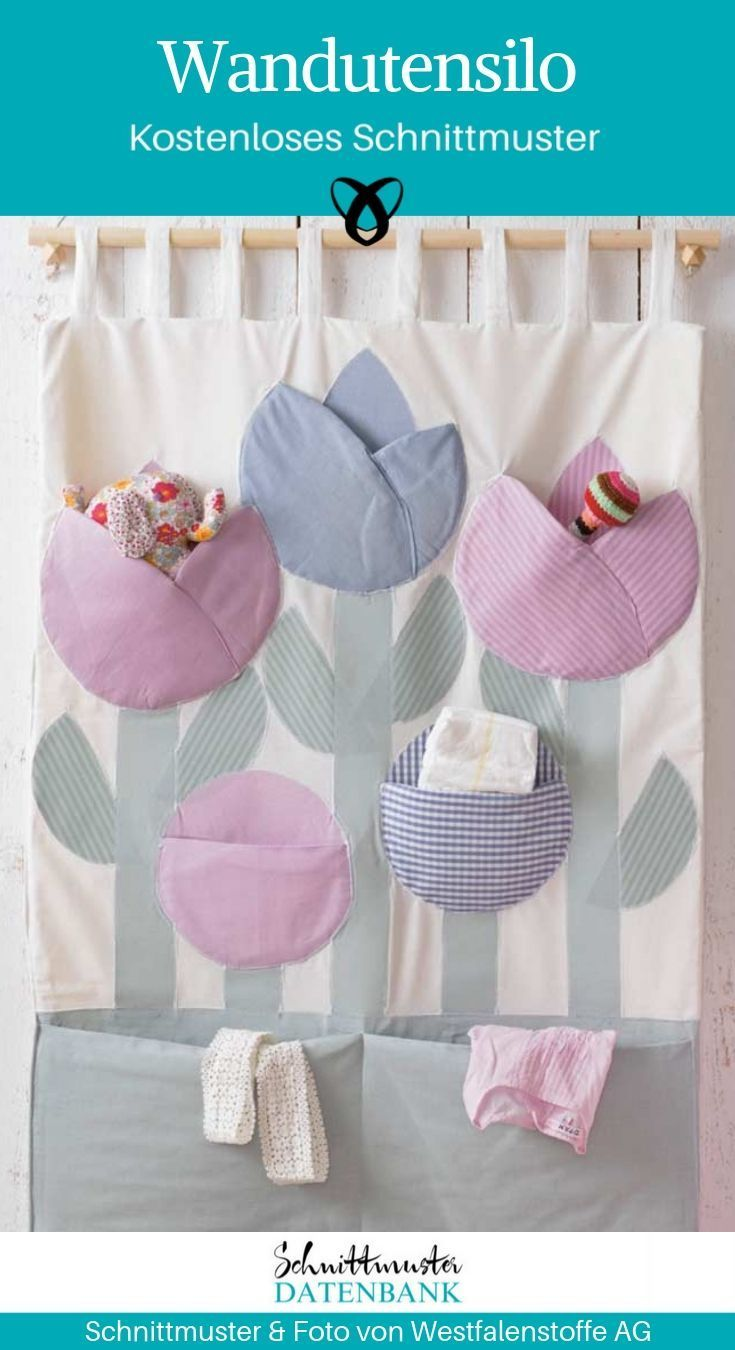 #easyhairstylesforbeginners #wallutensilo wall hanging silo for hanging tulips baby sewing pattern free free tutorial idea sewing idea gift