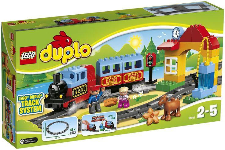 LEGO Duplo - Nuevo tren, set de inicio (10507): Amazon.es: Juguetes y juegos