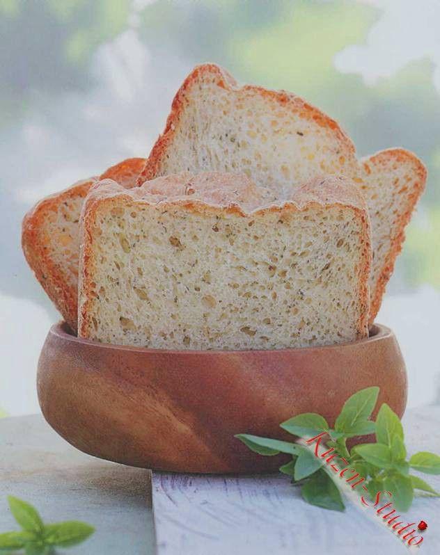 Итальянский хлеб с пряными травами