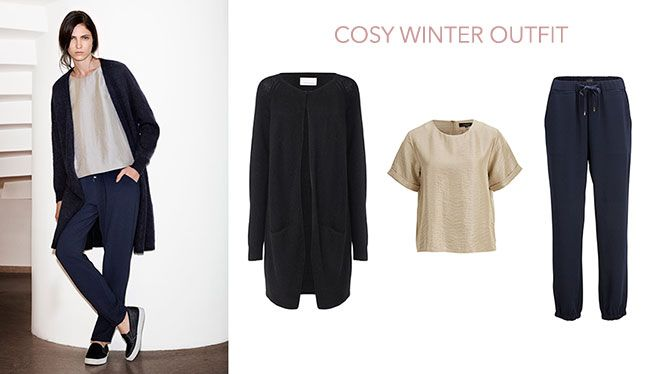 Cosy winter outfit! #SelectedFemme #Samsøe http://www.welcometobutik.com/news/outfitstar/